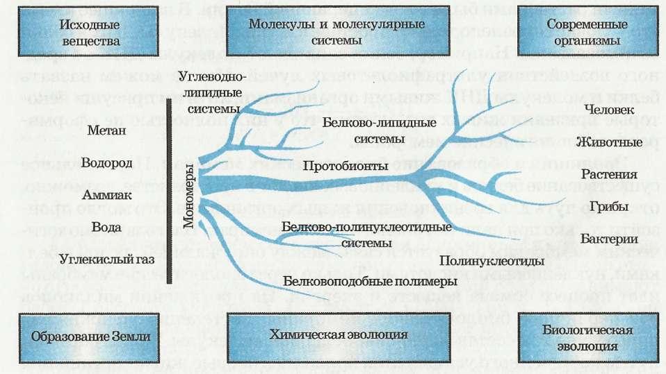 Схема перехода химической